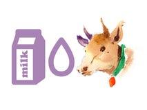 Farm animal illustration. Stock Photography