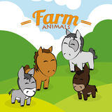 Farm animal Stock Photos