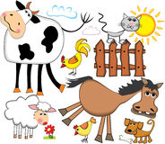 Farm animals. Royalty Free Stock Photography