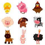 Farm animals Stock Photography