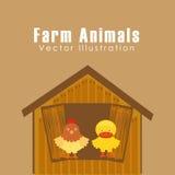 Farm animals design. Vector illustration eps10 graphic Stock Photo