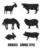 Farm animals icon Royalty Free Stock Photography