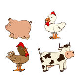 Farm Animals Royalty Free Stock Photography