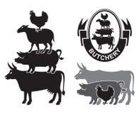 Farm animals Stock Photography