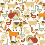 Farm animals pattern