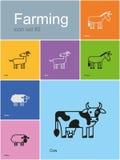 Farm animals Stock Image