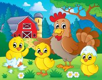 Farm animals theme image 7 Royalty Free Stock Photo