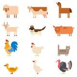 Farm animals Stock Images