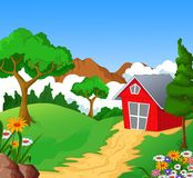 Farm background for you design Royalty Free Stock Photos