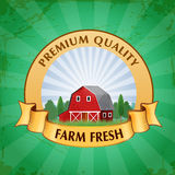 Farm badges Royalty Free Stock Photography