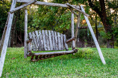 Farm Bench Stock Image