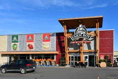 Farm Boy grocery store in Ottawa royalty free stock photography