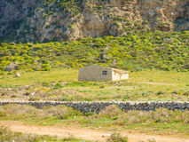 Farm building on the island of Sicily Stock Photos