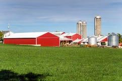 Farm Buildings and Blue Sky Royalty Free Stock Photos