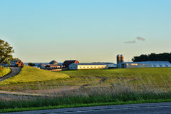 Farm Buildings and Crop 2 Royalty Free Stock Photography