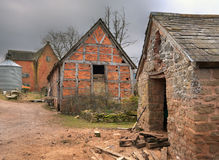 Farm buildings, England Stock Image
