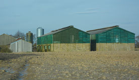 Farm buildings Royalty Free Stock Image