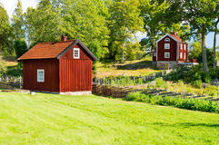 Farm buildings Royalty Free Stock Photos