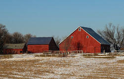 Farm Buildings Stock Image
