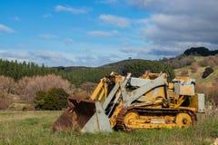 Farm Bulldozer Stock Photography