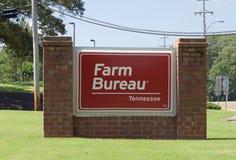 Farm Bureau Insurance Sign Stock Photos