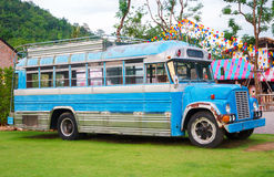Farm bus Royalty Free Stock Images