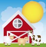Farm cartoon Stock Photo