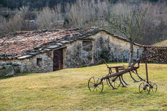 Farm in Catalonia Royalty Free Stock Images