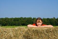 Farm child. Stock Photos