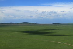 Farm and cloud. Farm in Inner Mongolia of china Stock Photography
