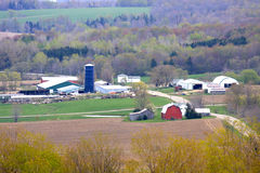 Farm Community Stock Image