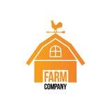 Farm Company Logo - Isolated Vector Illustration Royalty Free Stock Photography