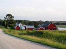 Farm country Royalty Free Stock Images