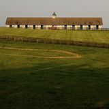 Farm in countryside Stock Photography