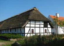 Farm in Denmark. Half-timbered farm in Denmark Stock Image