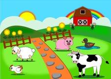 Farm der Tiere Stockfotos