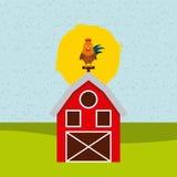 Farm der Tiere Stockfoto