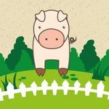 Farm- der Tieredesign Lizenzfreie Stockfotografie
