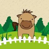 Farm- der Tieredesign Stockfoto