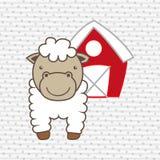 Farm- der Tieredesign Lizenzfreie Stockfotos