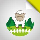 Farm- der Tieredesign Stockbilder
