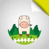 Farm- der Tieredesign Lizenzfreie Stockbilder