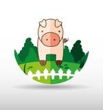 Farm- der Tieredesign Stockfotos