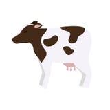 Farm- der Tiereikone der Kuh Lizenzfreies Stockfoto