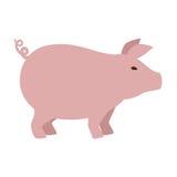 Farm- der Tiereikone des Schweins Lizenzfreie Stockfotos