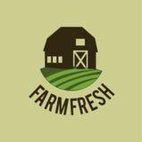Farm design Royalty Free Stock Image