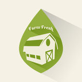Farm design Royalty Free Stock Photography