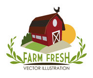 Farm design Stock Photo