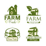 Farm design Stock Image