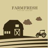 Farm design Royalty Free Stock Photos